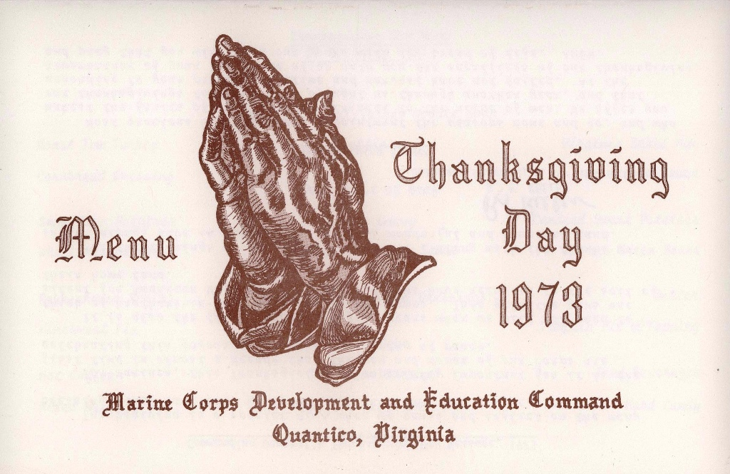 Thanksgiving day 1973