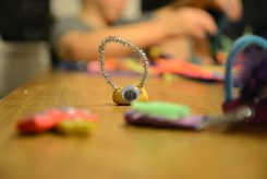 clay and pipe cleaner monster 1