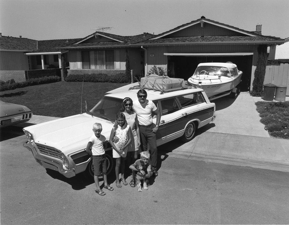 wood panel station wagon 1969