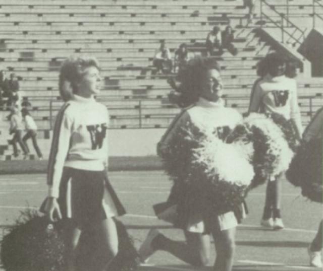 Lost Generation of High School Athletes: 1980s-cheerleaders