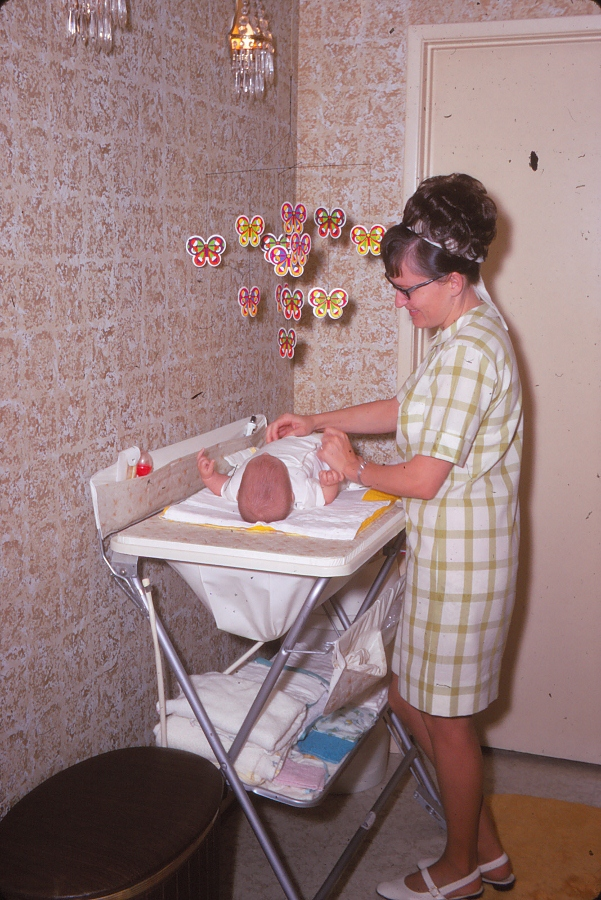 1970 Baby Changing Table