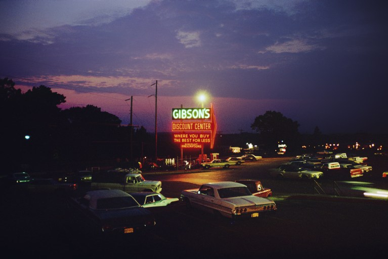 Gibson's Discount Store Tyler Texas 1970s
