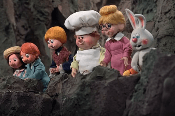 orphans rankin bass stop motion easter production