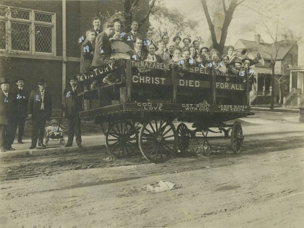 Chicago First Evangelist Wagon at 64th and Eggleston