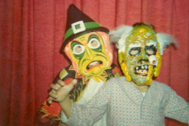 Gen X Halloween Plastic Masks 1973