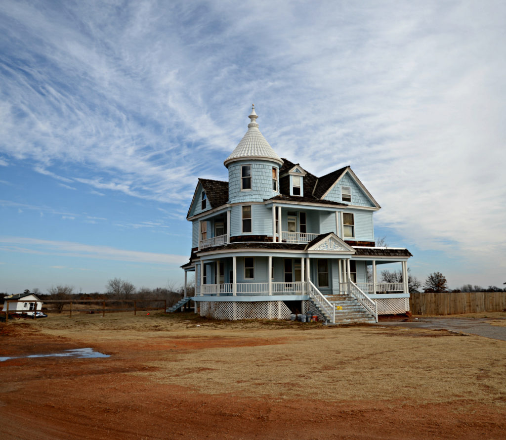 Victorian House Oklahoma Fair Grounds Goodholm Mansion