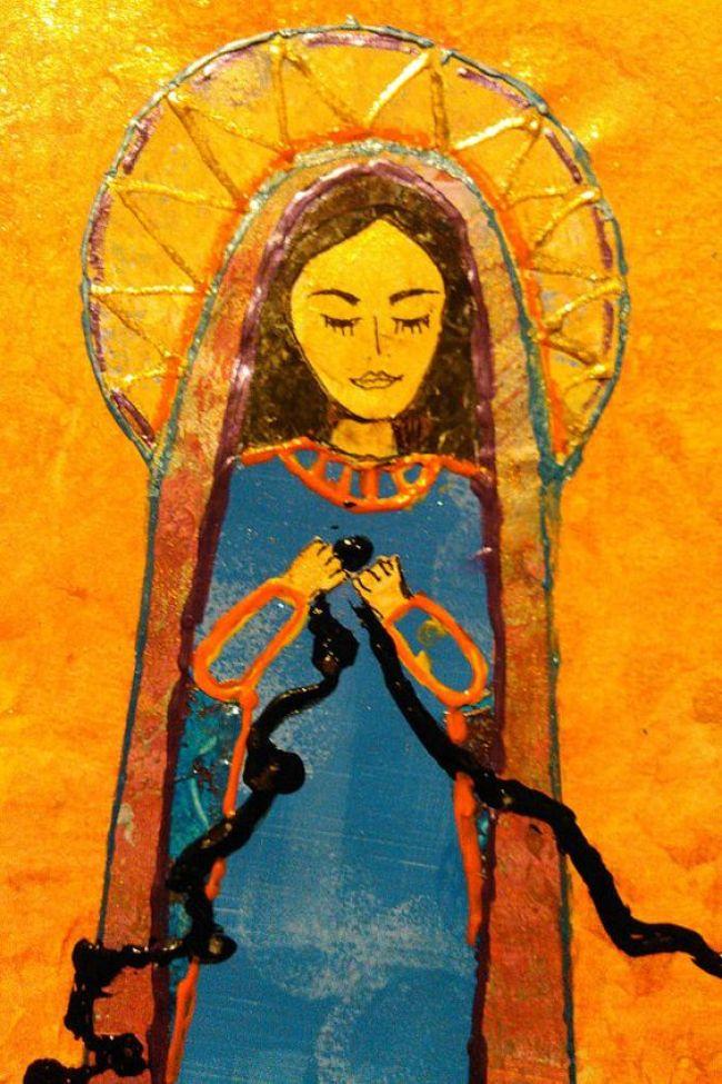 Mary Undoer of Knots Artwork