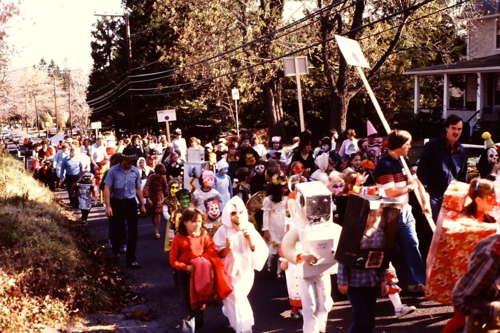 Halloween Parade 1980s Robots and