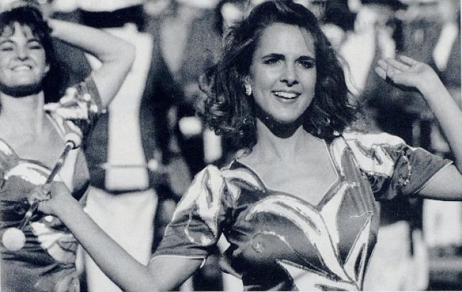 Jennifer Reese, University of Kentucky Baton Twirler, 1991