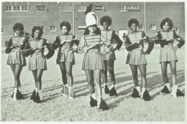 Oklahoma Douglass High School Baton Twirlers, 1970s