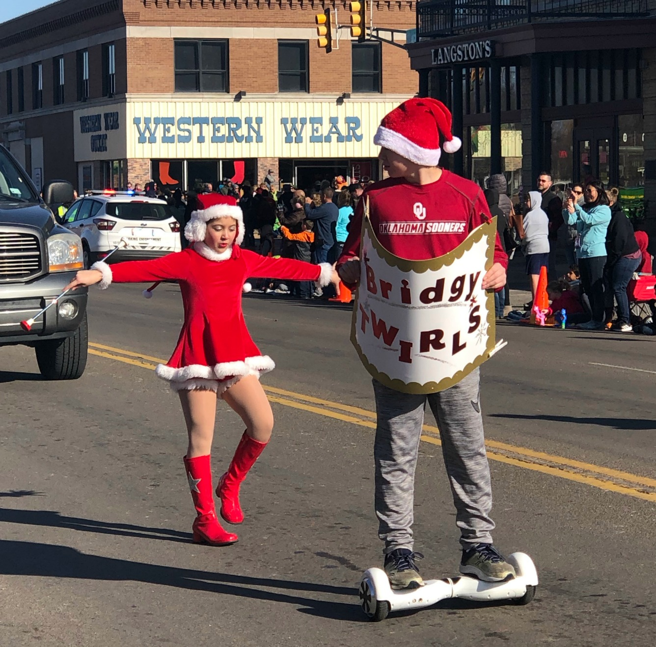 Stockyards City Christmas Parade