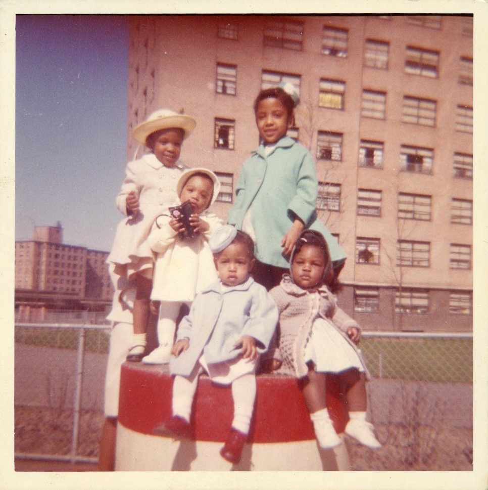 Easter 1972 Beautiful Black Children African American