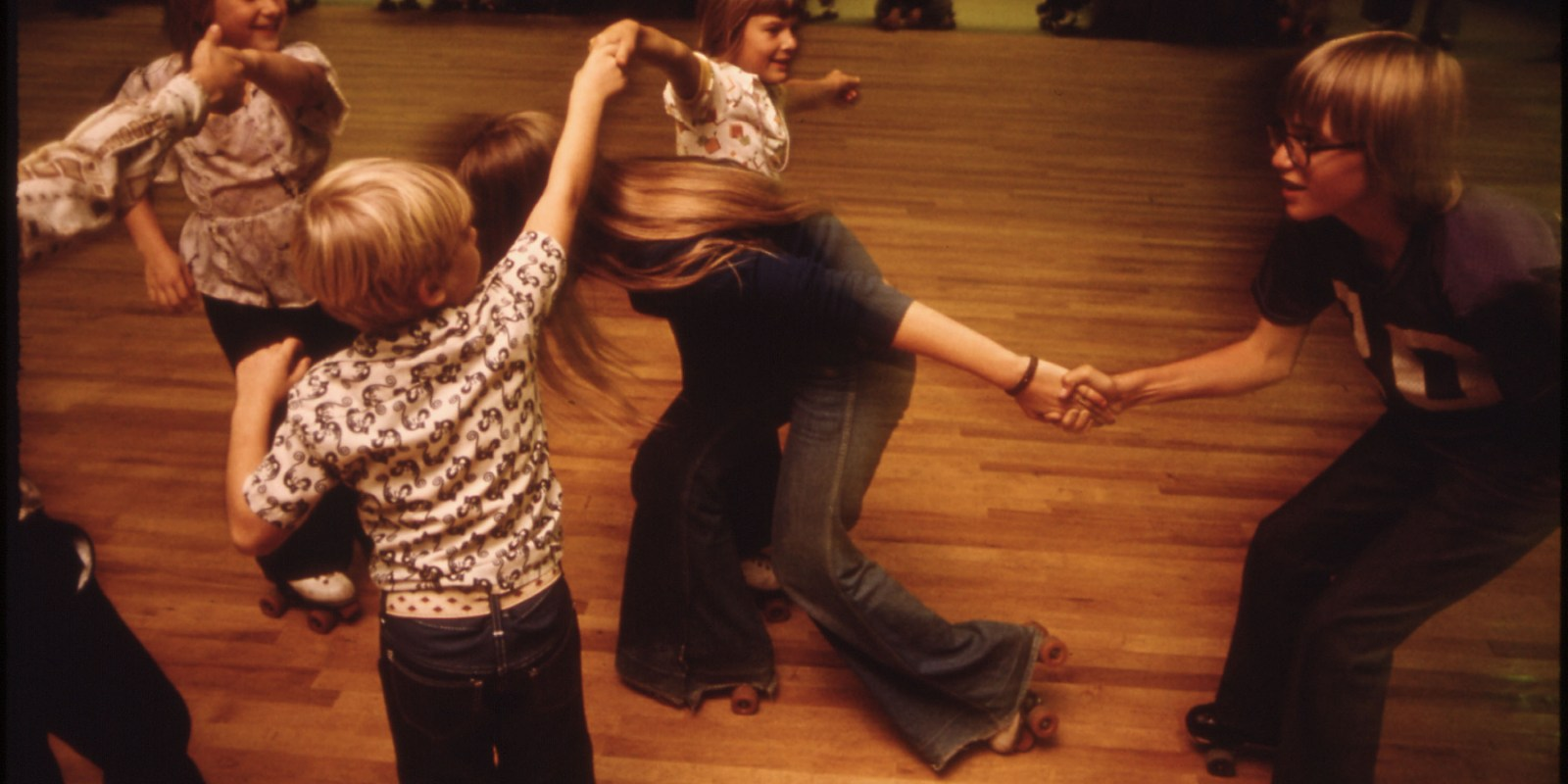 Vintage Roller Skating Pics from 1975