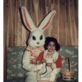 Easter Bunny with Tall Ears, 1978 | Source: Shared publicly on Facebook by Debbie Z.
