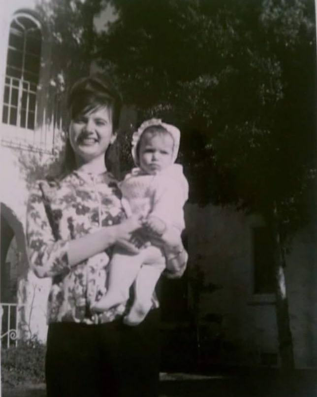 Mom and Daughter, Hollywood, California, Mother's Day 1967.