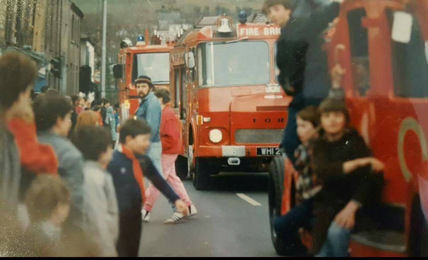 St. Patrick's Day Parade, Clonmel, Featuring the Tipperary Fire Rescue, 1980s