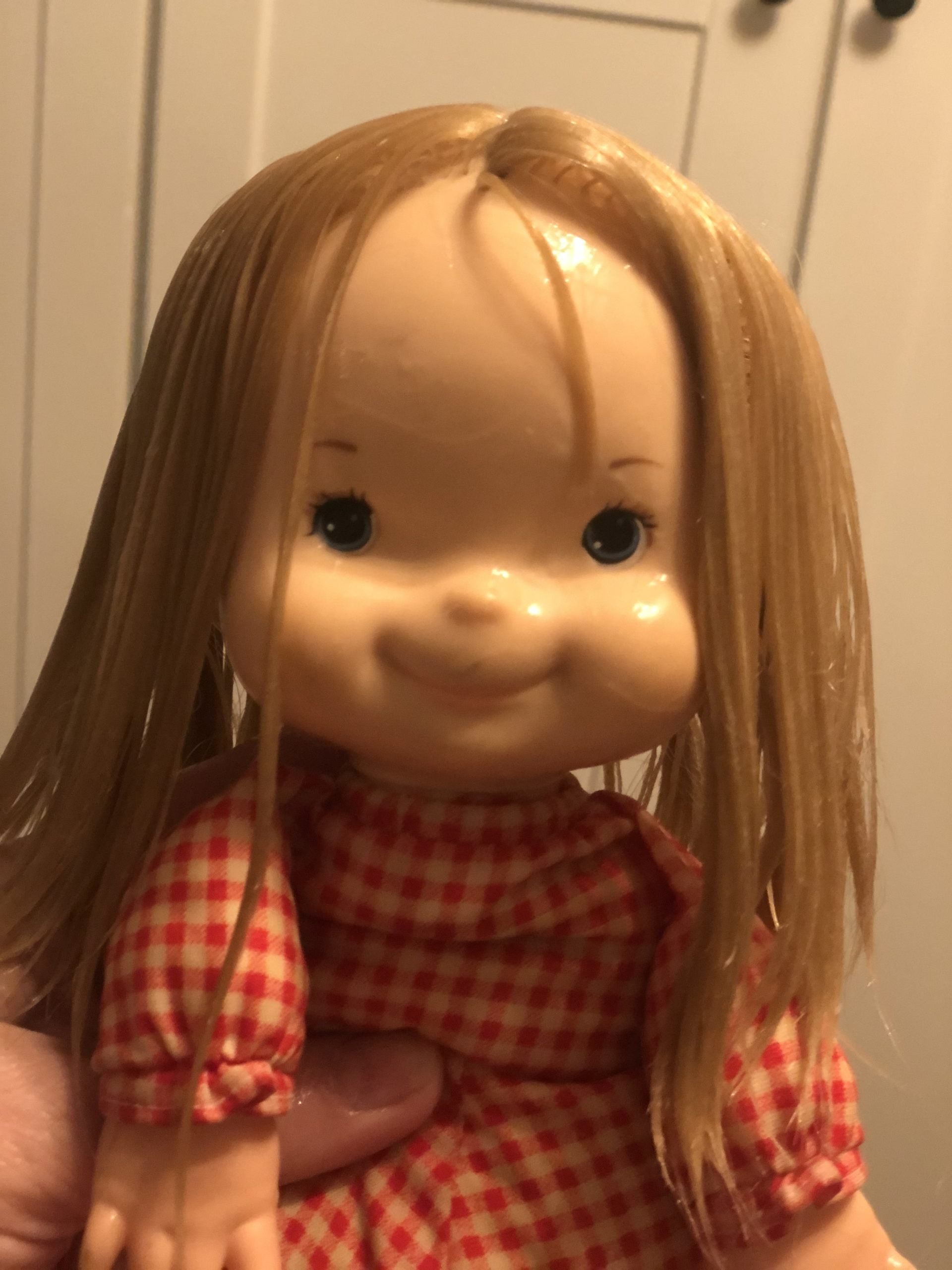 a doll with wet hair Fisher Price My Jenny Doll