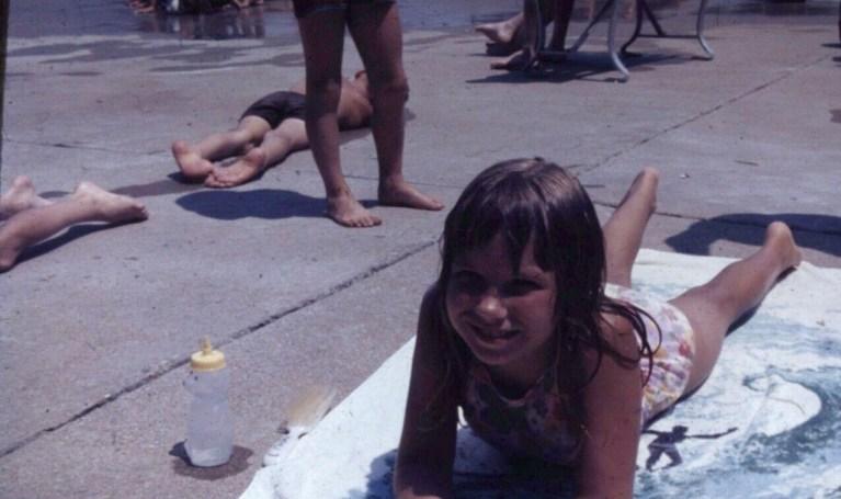 Sunburned Girl 1980s