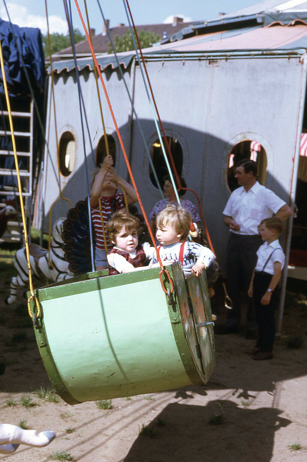 Gen-Xers on a scary carnival ride. The year was 1971.