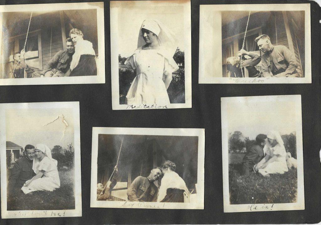 The Lost Generation | World War I Red Cross Volunteer with Soldier Boyfriends