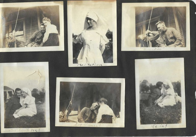 The Lost Generation | World War I Red Cross Volunteer with Soldier Boyfriends