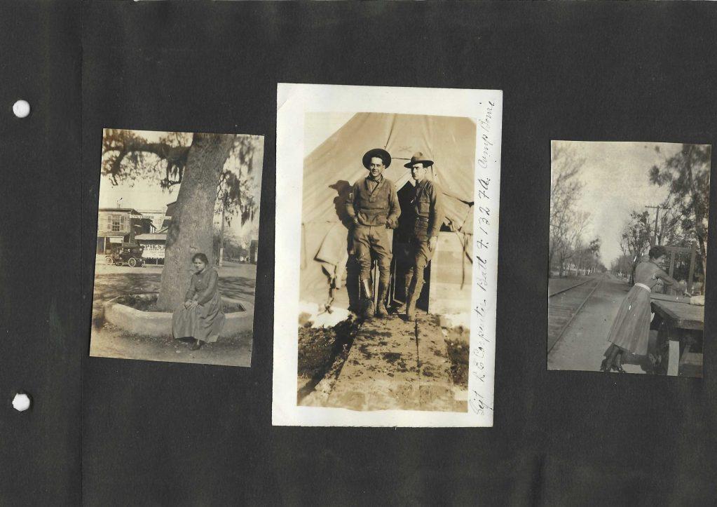 Camp Bowie Spies Ice Cream 1918-1920