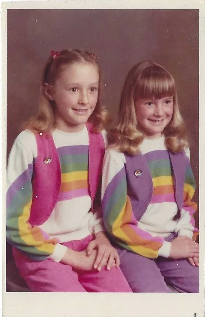 1980s Rainbow Shirt and Vests