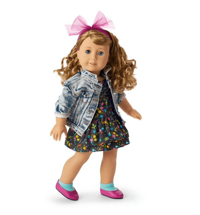 American Girl's new '80s historical character, Courtney Moore.