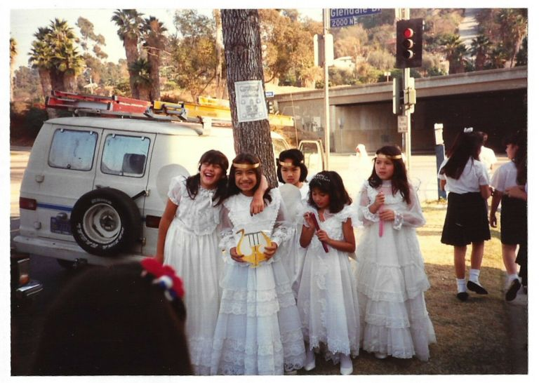 Saint Teresa of Avila Catholic Church First Communion 1980s