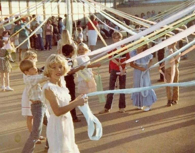 May Day Maypole 1981