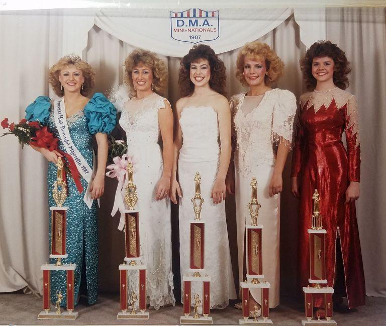 Drum majorettes of American 1987