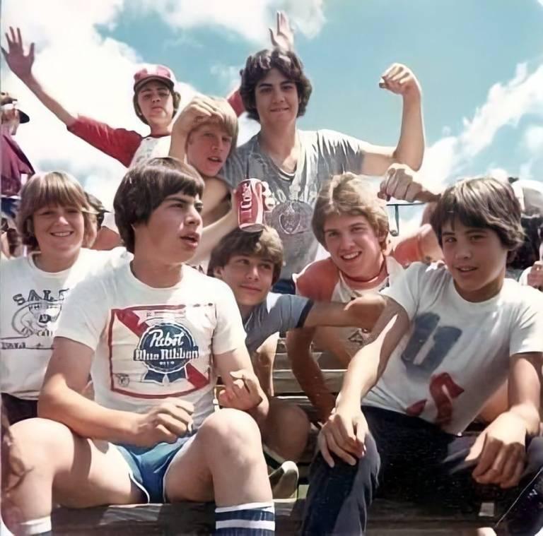 Field Day 1979 Pabst Blue Ribbon T-Shirt