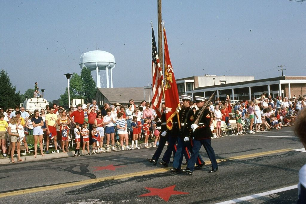 The few, the proud, the Marines, 1982 | Portrait of an American Town