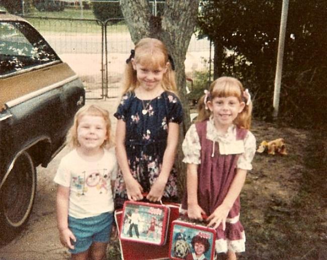 Vintage Annie Lunch Boxes, 1981