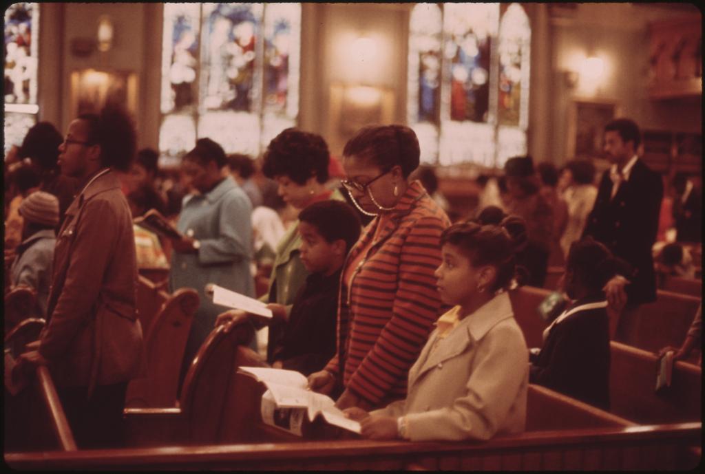 Black Church | Chicago 1973 | U.S. Archives