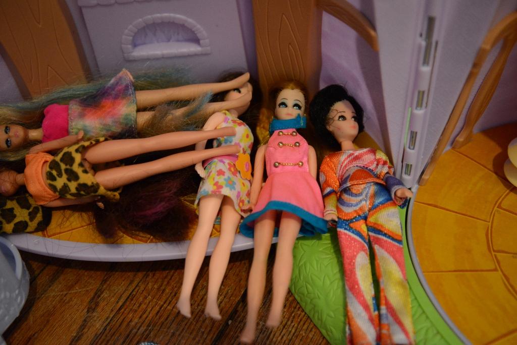 Dawn Dolls Invade Rapunzel Castle O Jennifer McCollum