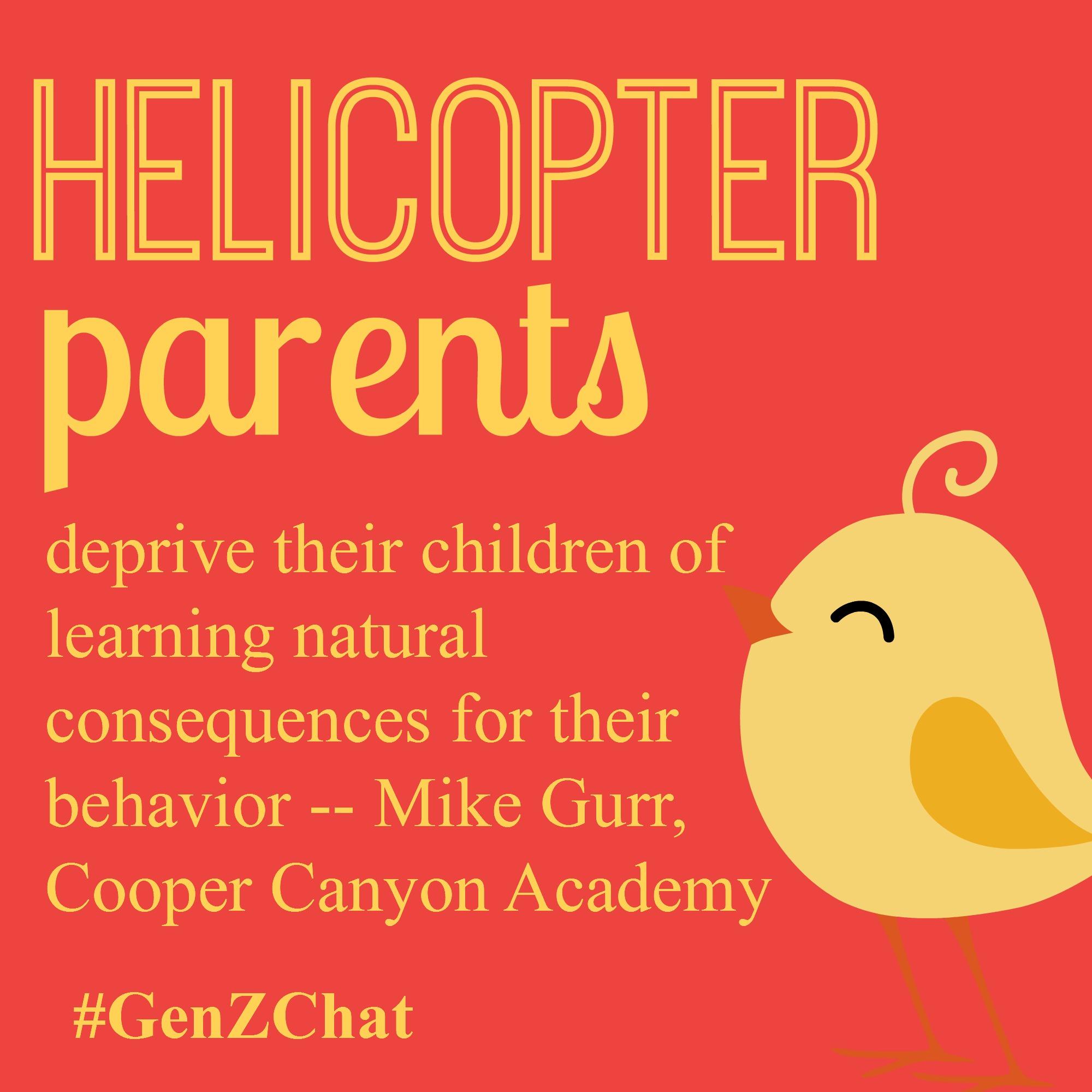 Overparenting Generation Z via #GenZChat • Jennifer Chronicles