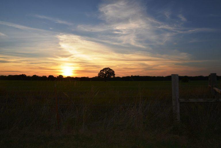 Logan County Sunset