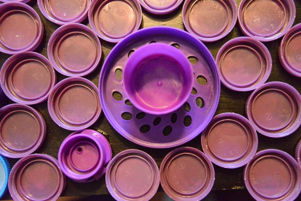 Purple Bottle caps