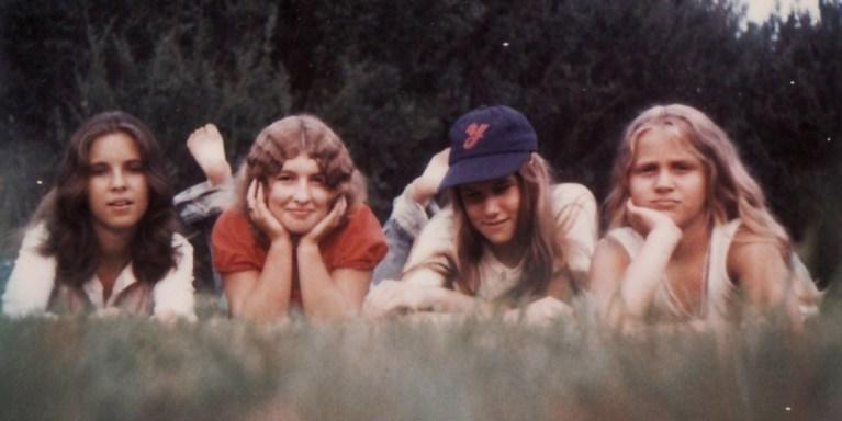 rare polaroid picture 1970s