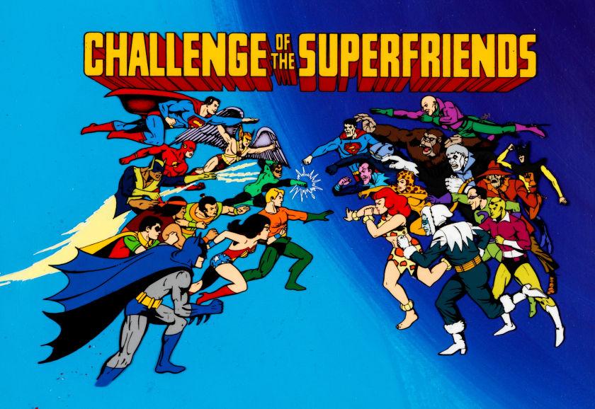 Super Friends Saturday Morning Cartoons