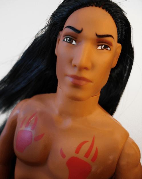 Tattoo Barbie Ken Doll