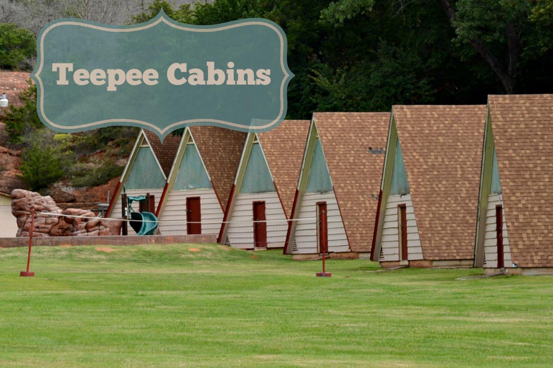 Teepee Cabins Oklahoma