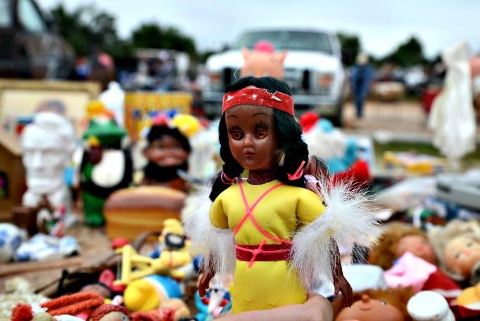 1950s Vintage Antique Indian Doll