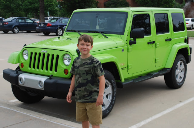 lime green gecko colored jeep wrangler