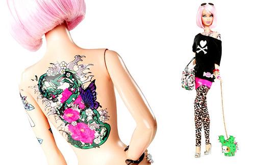 Tattoo Barbie Tokidoki