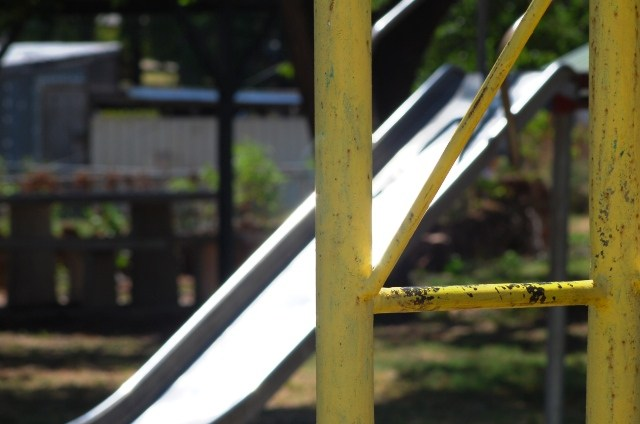Old Slide on a playground