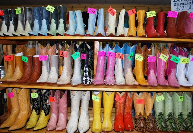 Mexican Cowgirl Boots