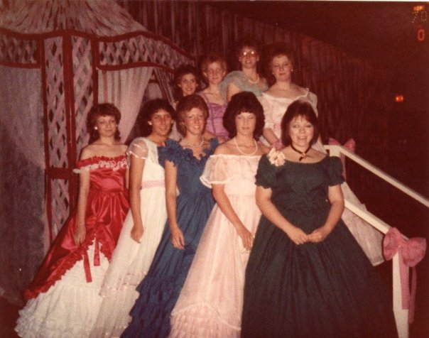 yellow dress prom 1984