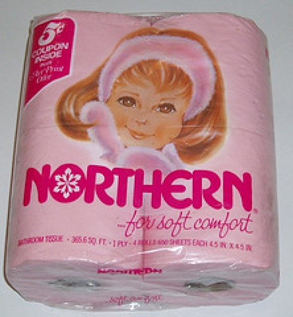 Colored Toilet paper Pink Northern